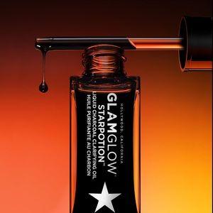 New, GLAMGLOW STARPOTION Liquid Charcoal Oil.